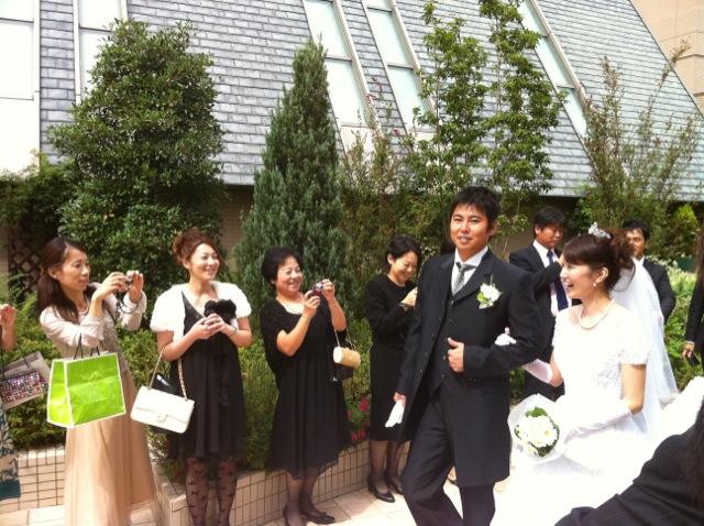 渡辺店長の結婚式